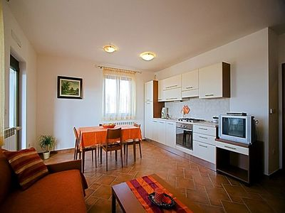Photo for Apartment 236 m from the center of Rovinj with Internet, Air conditioning, Parking, Balcony (641907)
