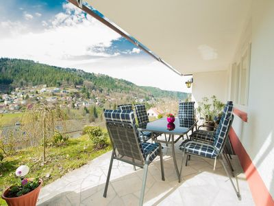 Photo for Sunny apartment with beautiful views, right on the edge of the forest!