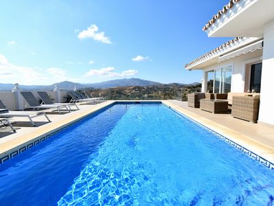 Photo for Villa Mijas Golf Fantastic Views Pool Costa Del Sol Spain
