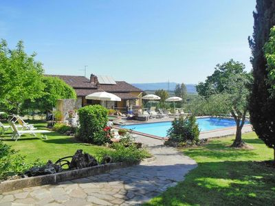 Photo for Agri-tourism Lodolazzo, Castiglion Fiorentino  in Chianti - 7 persons, 3 bedrooms