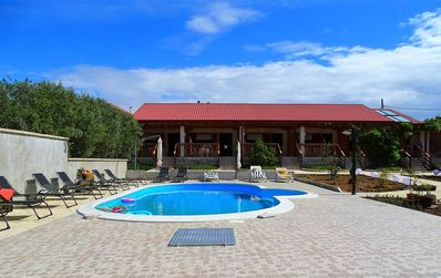 Photo for XXL holiday house for 20 people with pool