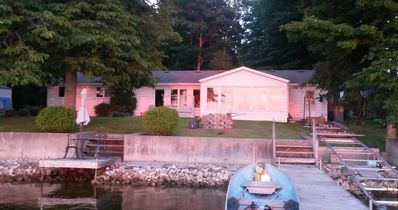 Lakeside Vacation Rental With Sunset