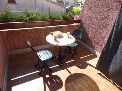 Photo for Very nice independent apartment Marseillan beach.
