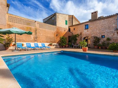 Photo for Surrounded by nature and with pool - Villa Son Cifre