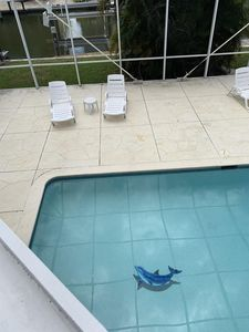 Family & Pet Friendly* Canal Home /Pvt Pool/*500 Yrds To Beach*