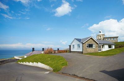 Photo for This cottage is part of the Bull Point Lighthouse site, just outside the pretty village of Mortehoe.