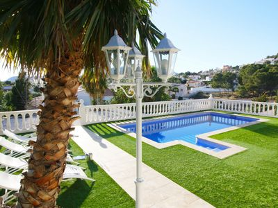 Photo for Luxury villa with 4 bedrooms and 2 bathrooms, with private pool and parking