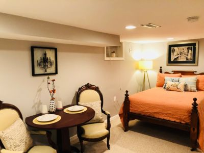 Photo for Cozy Basement Apartment with Parking in NW Washington D.C.