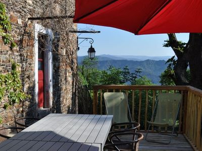 Photo for Nice self catering cottage - holiday rental in the Cevennes with great views