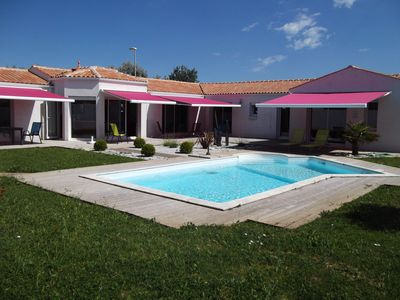 Photo for EXCEPTIONAL HOUSE HEATED POOL CLOSED GARDEN and / or GUEST HOUSE 8/12 pers.