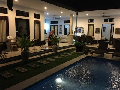 Photo for Spacious Villa close to all that Seminyak has to offer, located in a elite area.