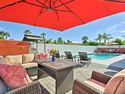 Photo for Updated Cathedral City Home w/Private Pool & Spa!