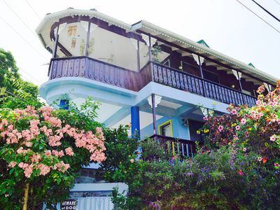 Photo for Amazing Ocean View in the Heart of Marigot Bay (2 minute walk to the ocean)