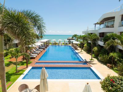 Photo for Flat in the Dunes of Cotovelo with Pool View