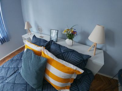 Photo for Into The BLUE, 4 guests, 5 min away from the BEACH