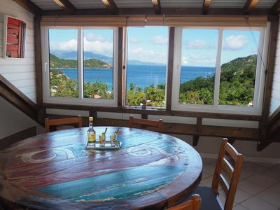 Photo for Beautiful charming cottage facing the bay of Saintes