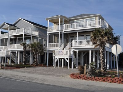 Photo for Gorgeous 5 BR Across from ocean,Pool and Elev--Aug 31st Specials $2600. week