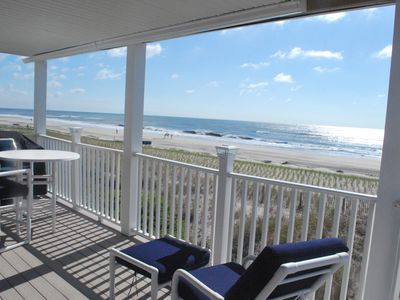 Photo for Views!  Family friendly oceanfront home with 180 degree ocean views.