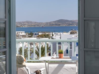 Photo for Sea View Maisonette with Pool-Jacuzzi at the heart of Milos