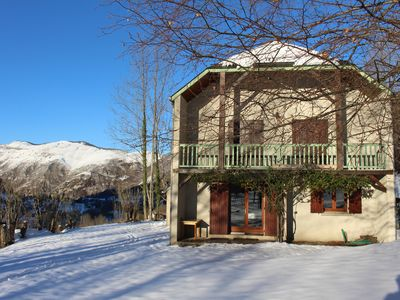 Photo for CHALET RENOVE IDEAL SKI LOCATED 10 MN OF MONGIE FOR 10/12 PERS