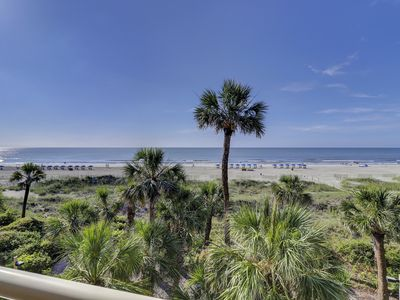 Photo for 2 Bedroom Villa with Sensational  Oceanfront views in Palmetto Dunes