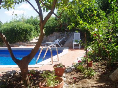 Photo for villa n 1 with pool 200 m from the sea, Villasimius, Sardinia