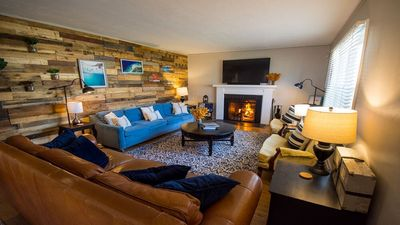 Photo for Family Retreat: Hot Tub, Theater Room, 15 Min Walk to ND stadium, Sleeps 14+