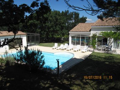 Photo for LUXURIOUS PROVENCALE HOUSE COMFORTABLE (pool and jacuzzi)