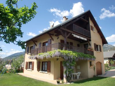Photo for MOUNTAIN CHALET HOLIDAY IN GUILLESTER AT THE PORTES DU QUEYRAS