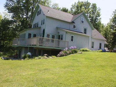 Spacious Farmhouse with Mtn Views, quiet, 4 mi from Bar Harbor, by Acadia NP