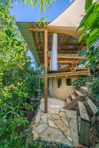 Photo for Rustic earthern two story cottage in Quintas del Bosque.
