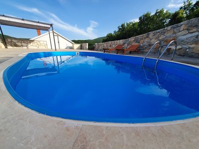 Photo for ctim264 - Holiday house with a private pool in Medovdolac - Makarska, 6+2 persons, pets allowed