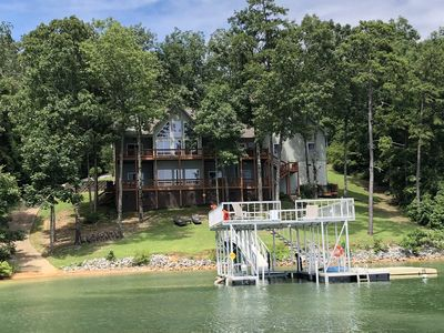 Photo for Smith Lake Rentals & Sales - DECKED OUT - Gorgeous Decks overlooking the Lake