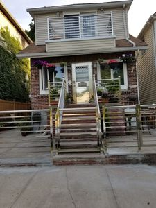 Photo for Hamilton's Hideaway Lower Level NYC apt located on a tree lined street in Bronx