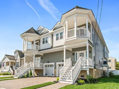 Photo for BRAND NEW, GORGEOUS BEACH TOWNHOME IN NORTH WILDWOOD, NJ- SLEEPS 14!