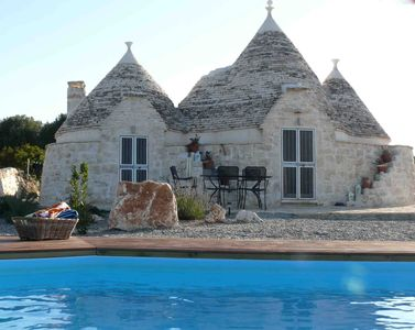 Photo for Beautifully Renovated Trullo For The Perfect Romantic Holiday, With Private Pool
