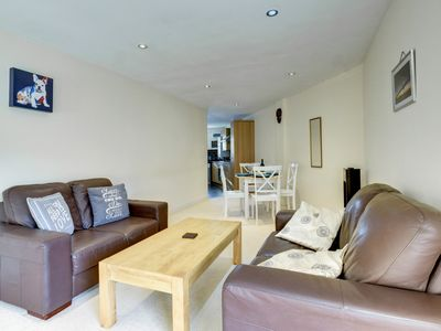 Photo for Holiday Apartment in Abergavenny near the town Centre with parking.  - Size – sleeps four in two b