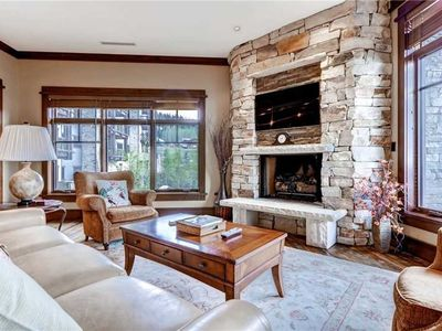 Photo for Beautiful ski-in/out Luxury Condo Located in the heart of Empire Pass!