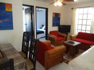 Photo for Charming Secure Apartment - Vacation & Ironman Ready