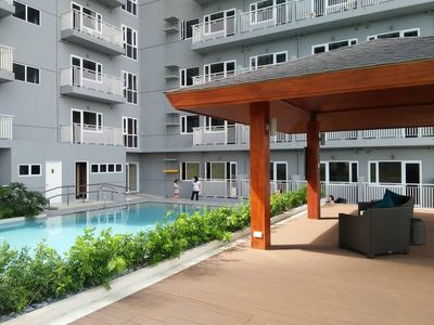 Photo for Contemporary style condo stay in the Heart of Manila with A/C+Wifi+Cable