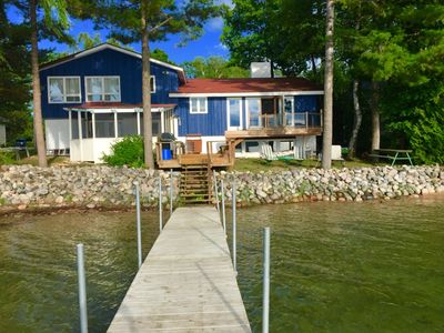 Photo for Splendor Beach-Suttons Bay-Waterfront-Modern Beach house-Pet friendly