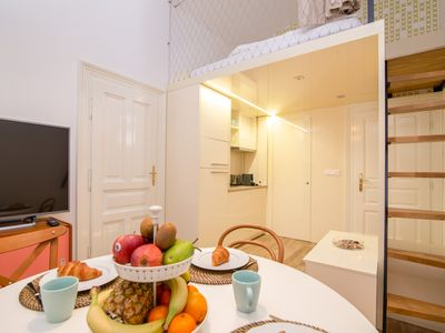 Photo for White Swan Modern Retreat Na Porici - Apartment for 4 people in Praha