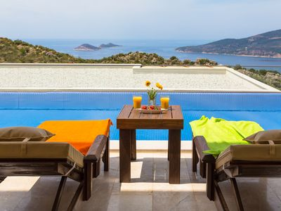 Photo for Luxury Villa in Kalkan With Stunning Sea Views & Private Swimming Pool