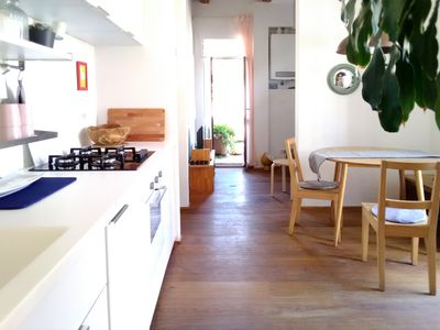 Photo for Bright Apartment with Terrace in Venice
