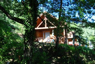 Photo for Camping La Pinède **** - 2 room chalet 5 people