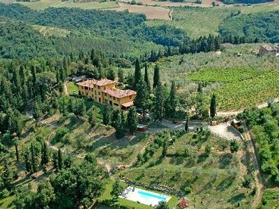 Photo for Wonderful Apartment In Chianti Area, With Garden And Swimming, Special Inside