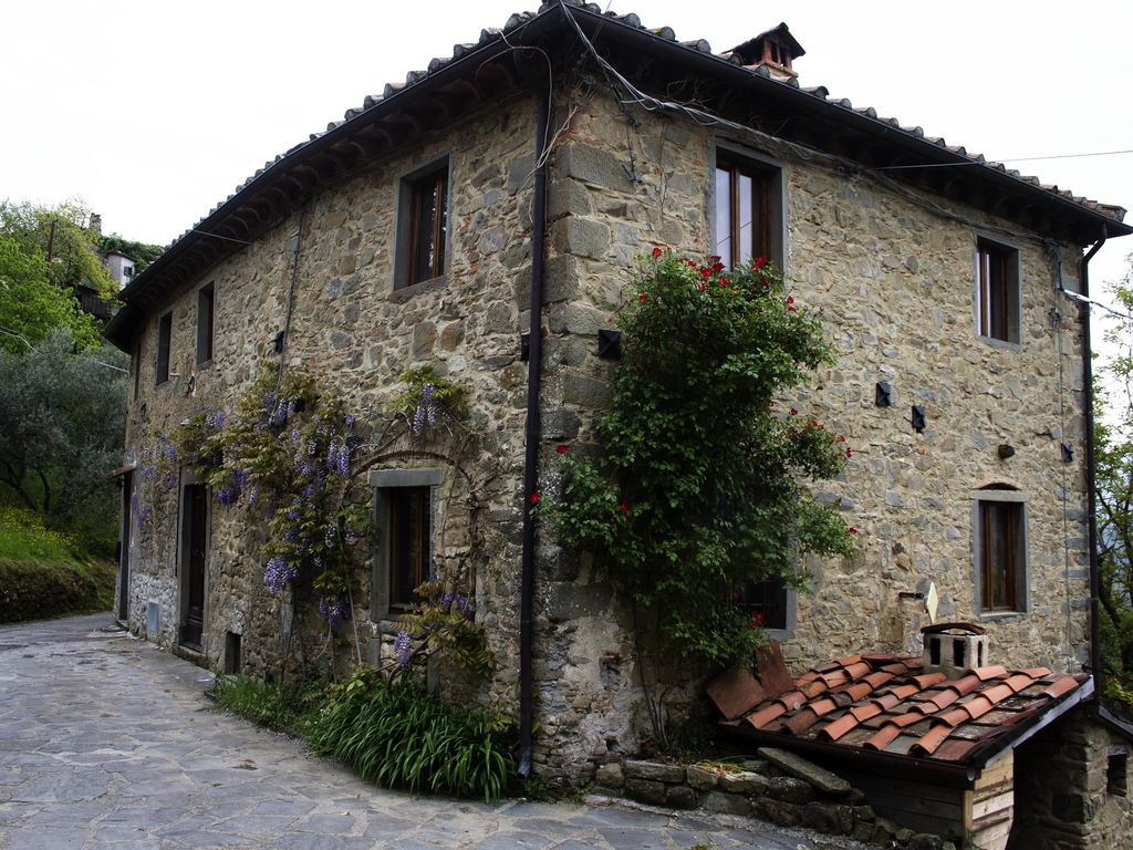 Bagni di Lucca Holiday House: Beautiful House To Let Overlooking The
