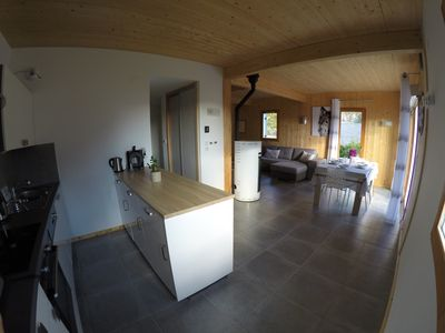 Photo for Contemporary new chalet, 3 bedrooms, 100m². In peace with view on Gérardmer
