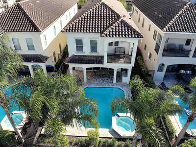 Photo for Luxury Reunion 7 Bed w/ Private Pool and Golf View