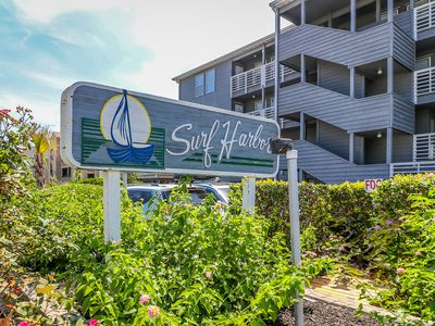 Photo for Nightly Stays Aug-Sept* Surf Harbor 204- Oceanfront & Pool